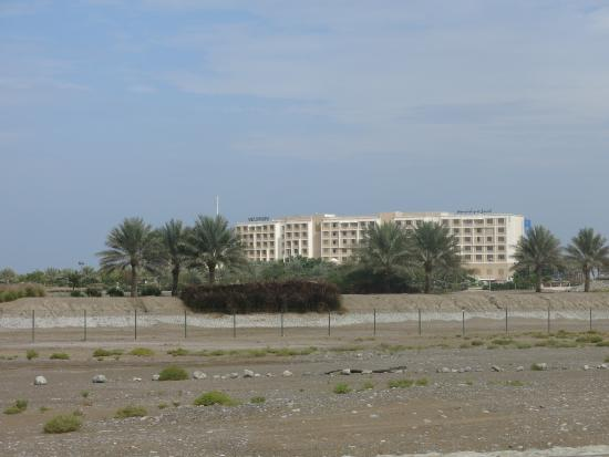 Al Mussanah, Omán: Front Entrance from Main Road