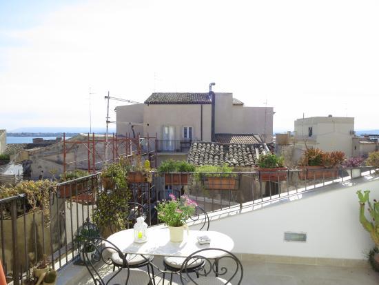 la Casa delle Fate: Miramare - terrace