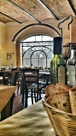 Montemerano, Italie : La sala