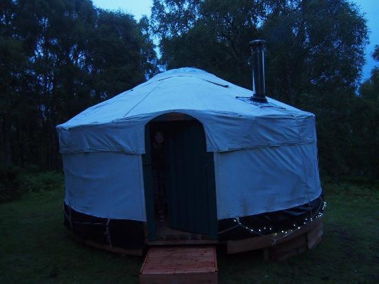 Rosemarkie, UK: Our Yurt
