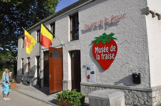 Wepion, Bélgica: musée de la fraise