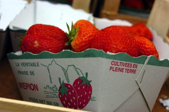 Wepion, Bélgica: fraise de wépion