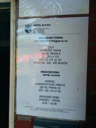 Hotel Slavia Photo