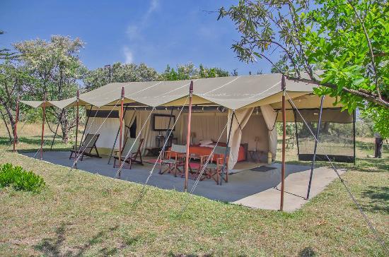 Mara Siria Camp: Luxury tents