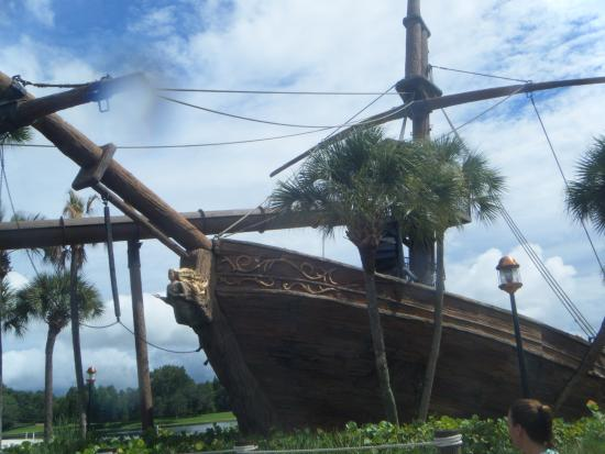 pirate boat water slide picture of disney s beach club resort rh tripadvisor com sg