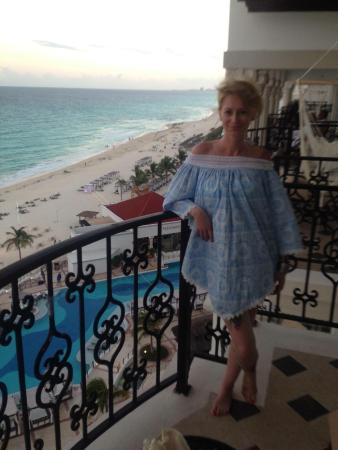 Hyatt Zilara Cancun: View from our balcony