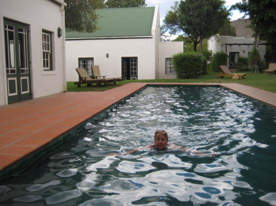 Prince Albert, Sudafrica: Good pool for lengths
