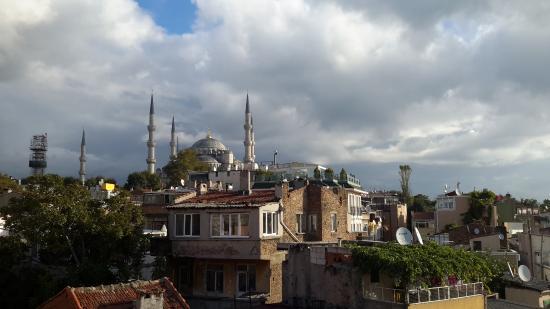 Asmali Hotel: Vista dalla terrazza sul tetto