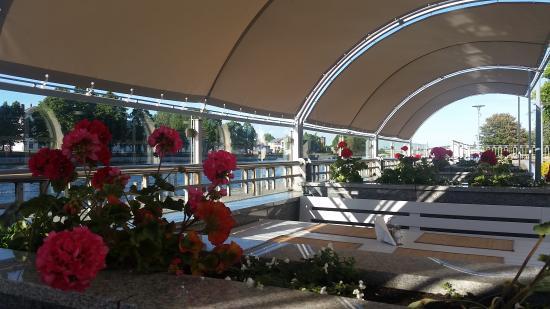 Libava Hotel: terasse