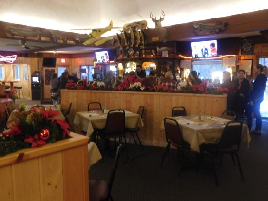 Boulder Junction, WI: The main dinning room & bar
