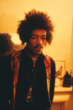 Handel & Hendrix in London: Jimi Hendrix at 23 Brook Street 7 January 1969 Credit Richard Keith Wolff