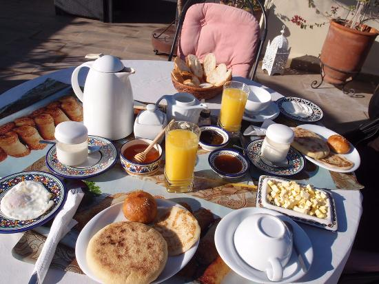 Riad Nesma: Café da manhã delicioso