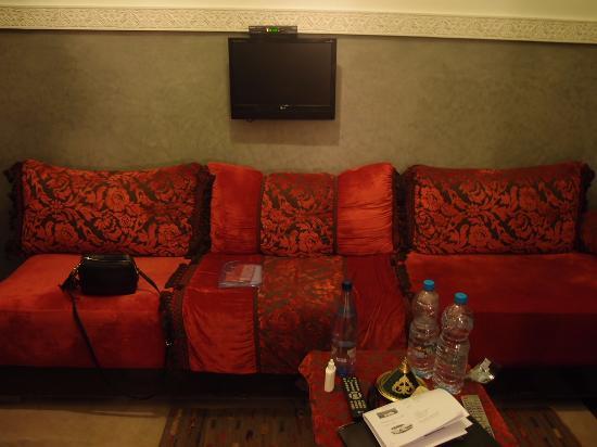 رياض نسمة: Sala dentro do quarto