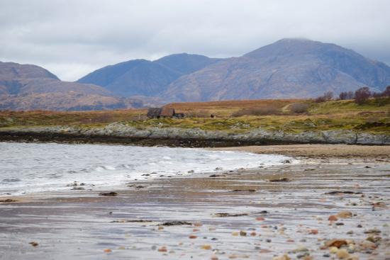 North Ballachulish, UK: beach near highland view b&b glencoe