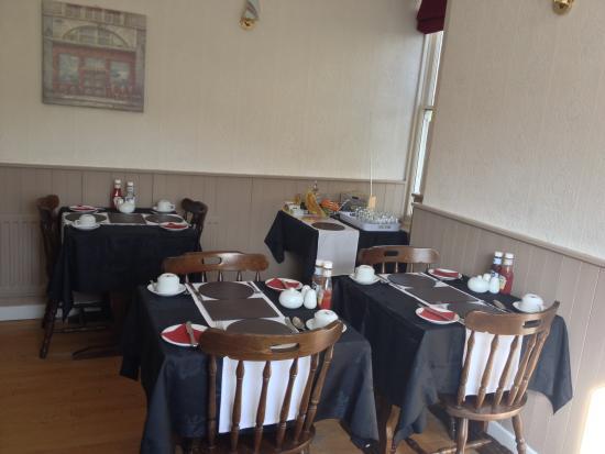 Machynlleth, UK: Breakfast Room