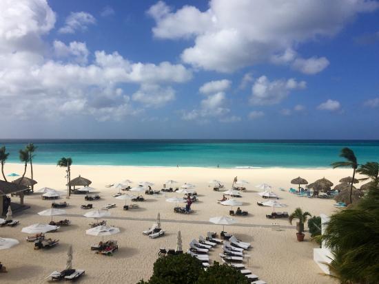 Bucuti Tara Beach Resort Aruba View From My Balcony