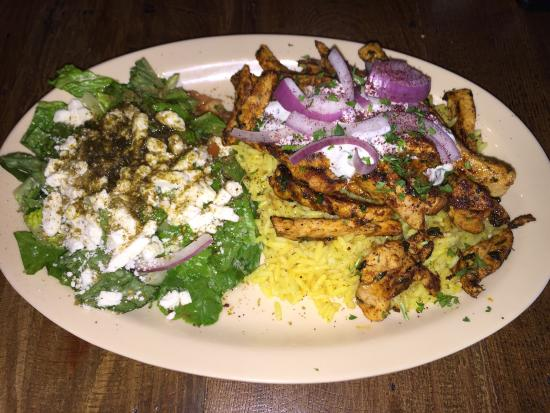 Swansboro, Carolina del Norte: Chicken Shawarma!