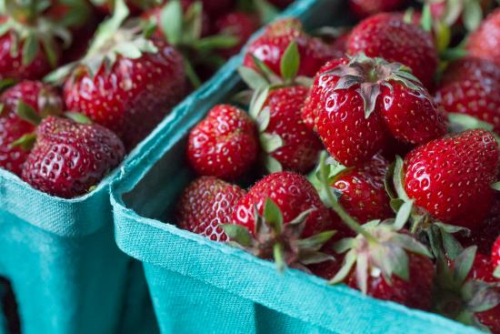 Schenectady, NY: Delicious local strawberries