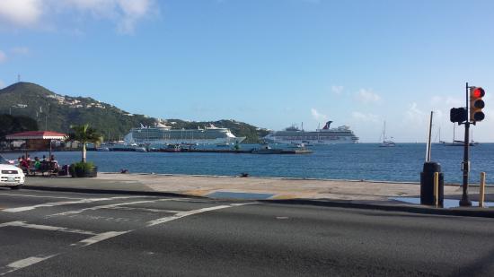 cruise ships docked in st thomas picture of st thomas u s rh tripadvisor com