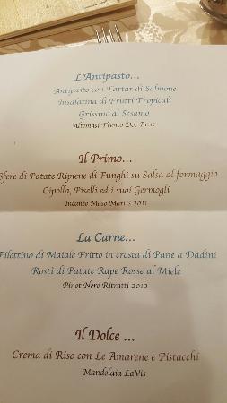 Family Hotel La Grotta: Serata con degustazione