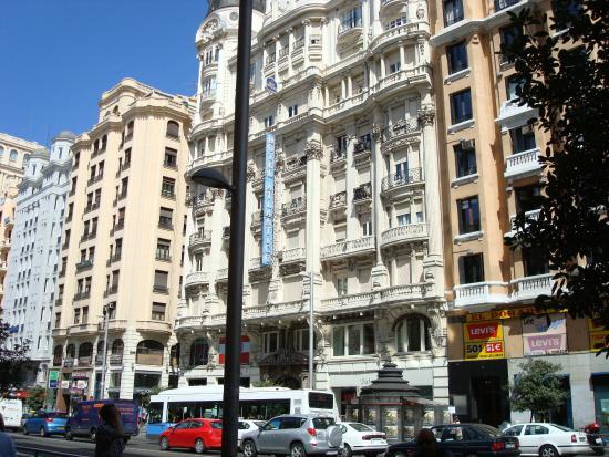 Facciata Esterna Picture Of Hotel Atlantico Madrid
