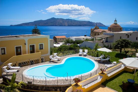 Santa Marina Salina, إيطاليا: Panorami dell'Hotel