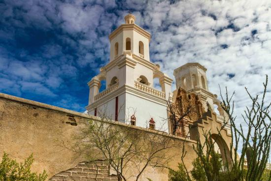 Tucson, AZ: It's hard to fairly describe the inspiring beauty of Mission San Xavier del Bac, the finest rema