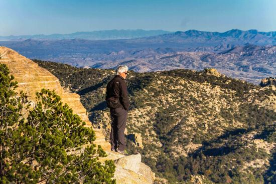 Tucson, AZ: A drive up the Catalina Highway up the 9,000 feet of Mt. Lemmon gives you the opportunity to see