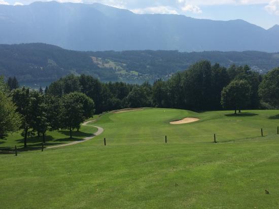 Millstatt, Austria: Toller Golfplatz mit super Aussicht
