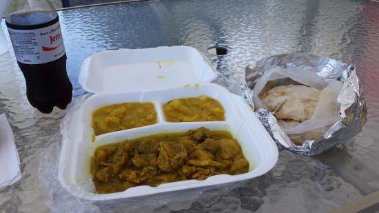 Ace Roti: Chicken Paratha