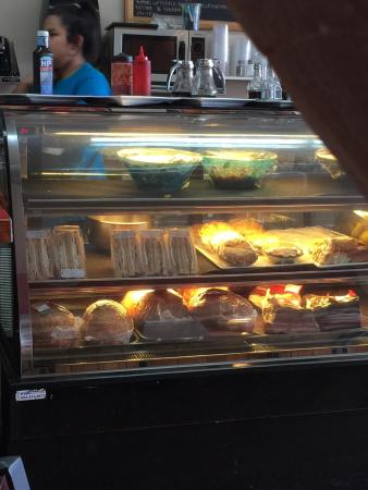 Grimm's Gourmet & Deli: Our breakfasts were so good!! Pictures show also some of the remodeling