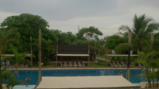 Resort La Torre: Vista do apartamento que estou hospedado