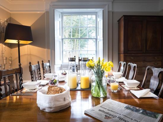 Godwick Hall: Dining room