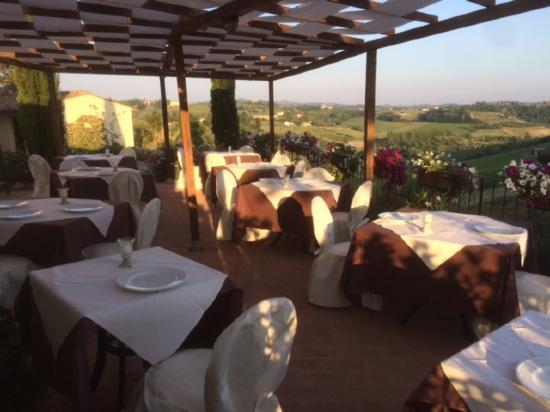 Montespertoli, Italia: La Terrazza!!!