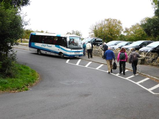 Fuzzacker Guided Walks and Tours: Getting the Bus at the end of the 1st Days Walking