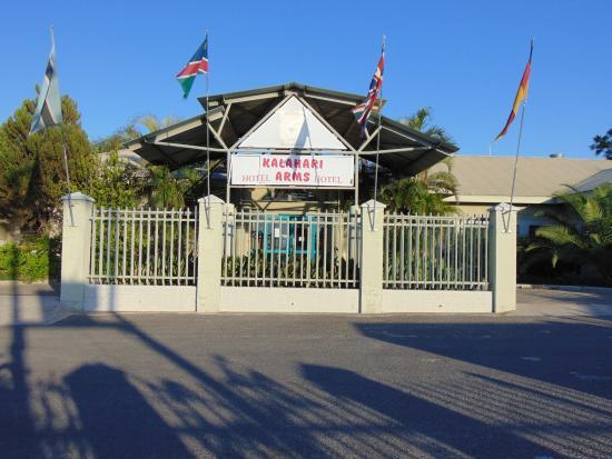 Ghanzi, Botsvana: entrance