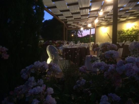 Монтеспертоли, Италия:  La Terrazza!