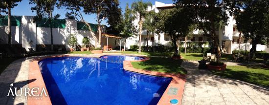 Aurea Hotel and Suites: Area de Alberca Y recreativa.
