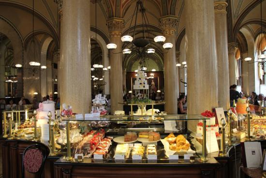 Cafe Central:  inside