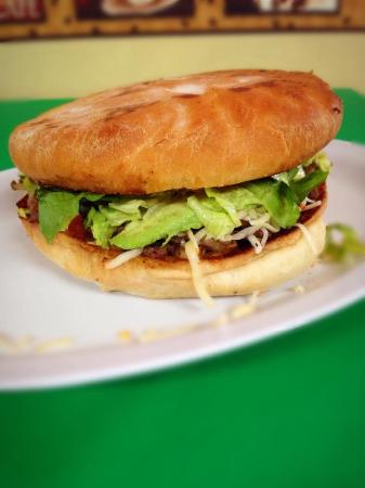 Ruidoso Downs, Нью-Мексико: Enjoy our delicious tortas for only 6 dlls.!!