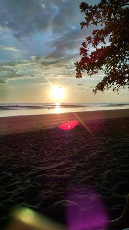 Dreamy Contentment: Sunset on beach