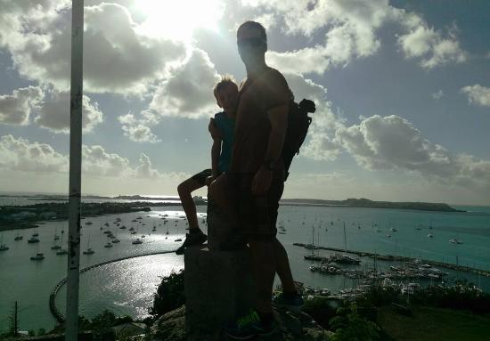 Oyster Pond, St. Martin/St. Maarten: Fort Louis