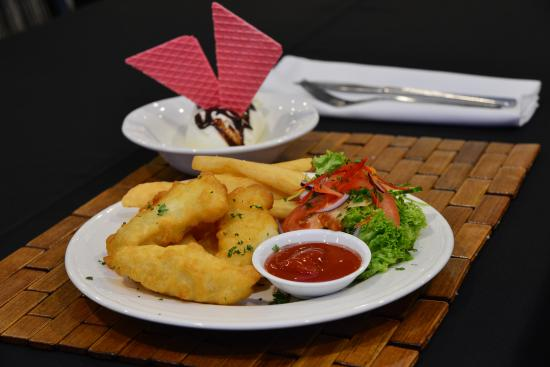 Ellerslie, Nowa Zelandia: Kids meals at the Pavilion Restaurant