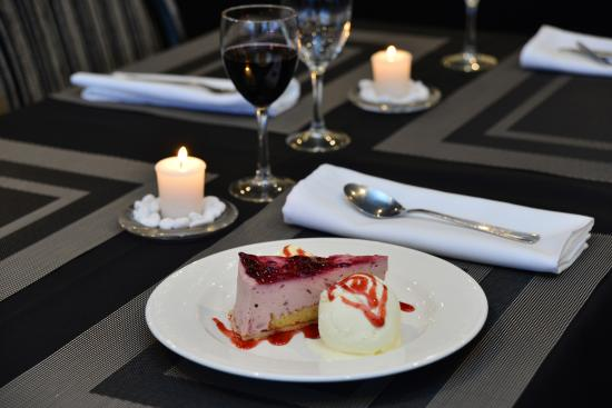 Ellerslie, Nowa Zelandia: Dessert at the Pavilion Restaurant