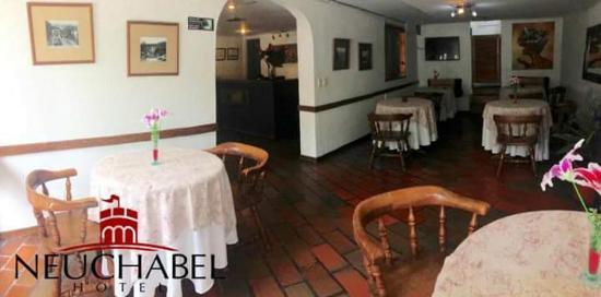 Hotel Neuchatel Cali: restaurante hotel neuchabel