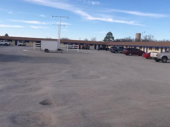 Cisco, TX: Parking areas