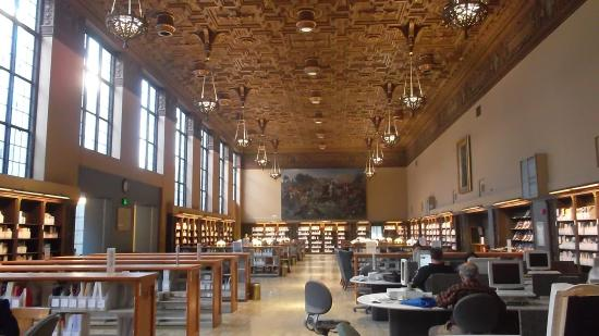 University of California, Berkeley: Biblioteca