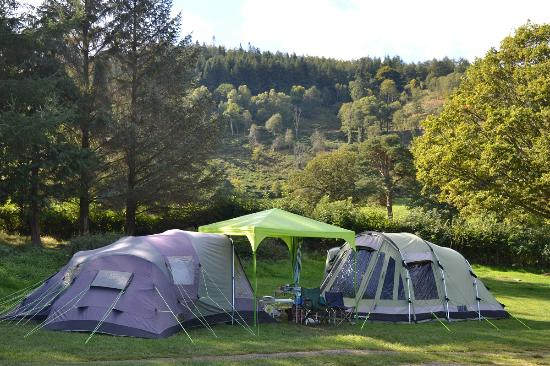 Tents on the Open Field - Lanefoot Farm C&site & Tents on the Open Field - Lanefoot Farm Campsite - Picture of ...