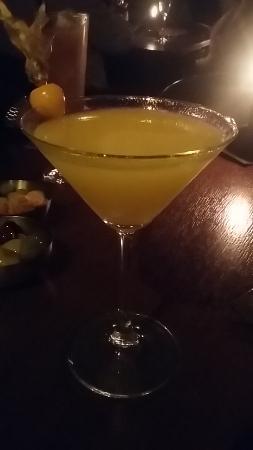 Hotel du Vin & Bistro: Marmalade Martini!!