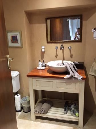 Constantia, Sydafrika: bathroom